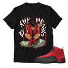 By Any Means Hands Unisex Shirt Jordan 12 Reverse Flu Game