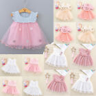 Toddler Infant Baby Girl Princess Romper Dress Clothes Outfits Kid Party Dresses