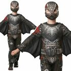 KIids Official Deluxe Battlesuit Hiccup How To Train Your Dragon Fancy Dress Cos
