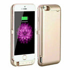 Portable Power Bank Pack Extra Battery Charger Case Cover For iPhone 6S 7 8 Plus
