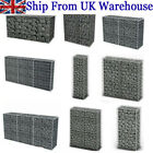 Garden Gabion Wall with Cover Welded Mesh Rock-Stone Wall Basket wire Cage Fence