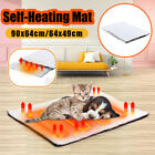 Electric Pet Heating Pad Blanket Mat Dog Bed Heated Cat Heater Waterproof Large