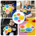 1X Baby Simple Dimple Sensory Fidget Toy Silicone Flipping Board Kids Adult Gift