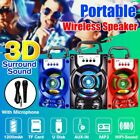 5.1inch Pro 5W USB Portable Subwoof LED bluetooth Party Speaker Party Stereo Ne