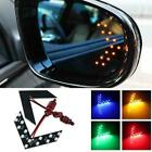 2 pcs Car Side Rear View Mirror 14SMD LED Lamp Turn Light Accessories X6S4