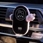 BT21 BTS - Car Fast Wireless Charging Cradle Cell Air Vent Phone Holder Battery