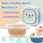 Portable Multi-Purpose Foldable Baby Washbasin For Kid Cute Cartoon Light weight