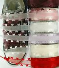 TZ Laces Branded 15mm Heart Trimmed Organza Ribbon shoelaces fashion Trainers