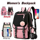 Teen Girl Anti-theft Backpack with USB Charging Backpack Waterproof Bag School