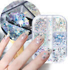 Holographic Chunky Sparkly Slices Star Moon Summer Nail Sequins Glitter Flakes