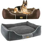 Heavy Duty Extra Large Dog Bed Orthopedic Pillow Bed Soft Pet Lounger Waterproof