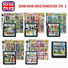 208/482/468/500/520 In 1 Video Game Cartridge Console Card For Nintendo Nds Uk
