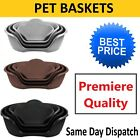 Pet Bed Baskets For Cat Dog-Comfortable In 3 sizes Heavy Duty Plastic Waterproof
