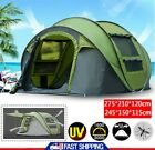 2-6 Person Camping Automatic Pop Up Tent Waterproof Folding Outdoor Hiking US