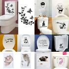 Durable Bathroom Toilet Decoration Seat Art Wall Stickers Decal Home Deco Jetsmo