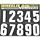 White  Wheelie Bin Numbers