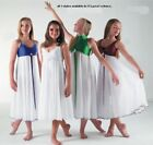 Beautiful White Chiffon Lyrical Dress Dance Costume