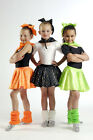Funky Rock N Roll Skirt Set Dance Costume 3 Kid Sizes