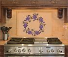 Grape Wreath Kitchen Wall Stickers Vinyl Decal Decor