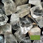 Faceted Rutilated Rutile Clear Quartz Energy Focus Stone Crystal Grid Brazil