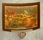 Lithophane Night Light - Sea Turtles - Porcelain
