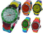 Prince London toy style solid multi-coloured watch