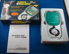 TALKING PRO GOLF EXCALIBUR ELECTRONIC HANDHELD VIDEO LCD GAME COURSE TRAVEL TOY