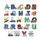 New Boys Iron on Letters Alphabet Applique Patches