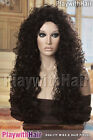 Amazing Mane!! Long Full Curly Wig - COLOUR CHOICES! Brown Auburn Burgundy Red