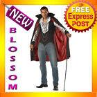 C304 Mens Very Cool Vampire Dracula Halloween Scary Fancy Dress Adult Costume