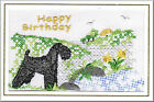 Kerry Blue Terrier Birthday Card by Dogmania