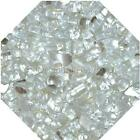 "Platinum Reflective  1/4"" Fireglass Fire Glass Fire Pit Fireplace Glass Crystals"