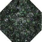"3/4"" Forest Green Fire Glass Fireglass Fire Pit Fireplace Glass Crystals Gas Log"