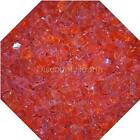 "3/4"" Orange Twist Fire Glass Fireglass Fire Pit Fireplace Glass Crystals Gas Log"
