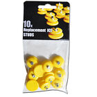 10-STUD UNIVERSAL ICE NO SLIP SNOW SHOE SPIKES GRIPS CLEATS QUALITY CRAMPONS UK