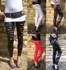 LONG LENGTH Leggings Viscose Elastane Chilli Chocolate or Grey Sizes 8 - 18