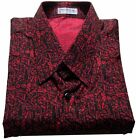 Mens Thai Silk Shirt  / Short - Long Sleeve / S-M-L-XL-XXL-XXXL /  Pattern no.18
