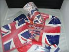 Complete range of British Union jack party table items ****ALL FREE POSTAGE****