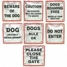 Dog Signs for Dog Owners 8cm x 8cm  good Selection