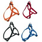 FERPLAST EASY ADJUSTABLE DOG PET PETS HARNESS VARIOUS SIZES & COLOURS FREE PP