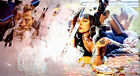 L2519 Pulp Fiction Collage Art Movie Canvas Print Film Celebrities