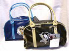 Pittsburgh Penguins Bowler style purse handbag TWO COLORS TO CHOOSE FROM