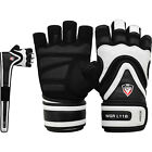 RDX Ladies Gel Gloves Fitness Gym Wear Weight Lifting Workout Training Cycling