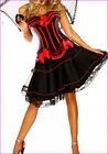 Burlesque Moulin Rouge Lolita FANCY DRESS Corset Dress