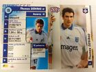 France French Football Teams Trading Cards 1990's Monaco Marseille Bordeaux etc