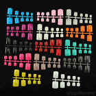Selections of 100 pcs Toe Nails (Whole Nails) - Extra Strong ABS Plastic