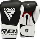 RDX Ultimate Leather Boxing Gloves Fight,Punch Bag MMA Muay thai Grappling Pads