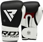 RDX Cowhide Leather Boxing Gloves Training Punch Bag Sparring Muay Thai Fight S5