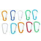Wholesale Multicolor Aluminum Carabiner Durable Climbing Hook For Outdoorsport