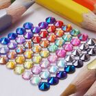 500 to 5000 4mm / 5mm Flat Back AB Round Pointed Rivoli Rhinestones Crystal Gem